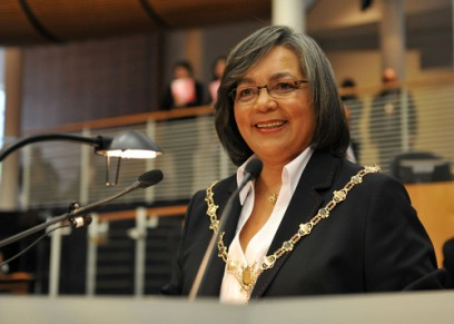 Executive Mayor of the City of Cape Town, Patricia de Lille, . Photo: City of Cape Town