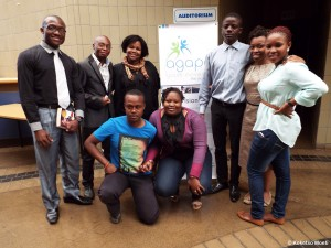Activators who came out to support the launch of the drive