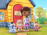 Doc McStuffins with some of her toys. Image courtesy of Disney.