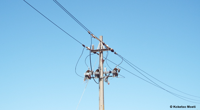 Illegal electricity connections are quite common in the community, although there are a few households using prepaid metres. These are power lines erected 2010, which were never been connected to households and thus have never been in use, resulting in many people still relying on candles and paraffin as sources of energy.