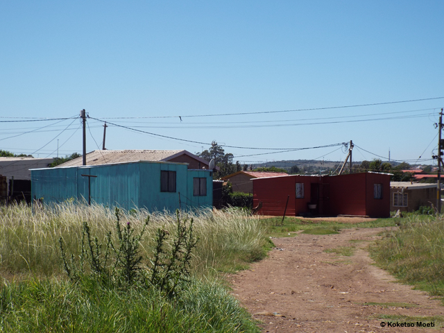 The community has some formal housing, which residents built for themselves. But the majority of residents are shack dwellers living on rented land.